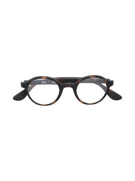 Ray Ban Junior round glasses - Brown