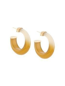 Gas Bijoux Abalone hoop earrings - Green