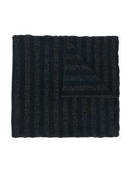 Caffe' D'orzo striped scarf - Blue