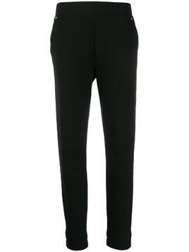 Escada Sport relaxed fit tapered leg trousers - Black