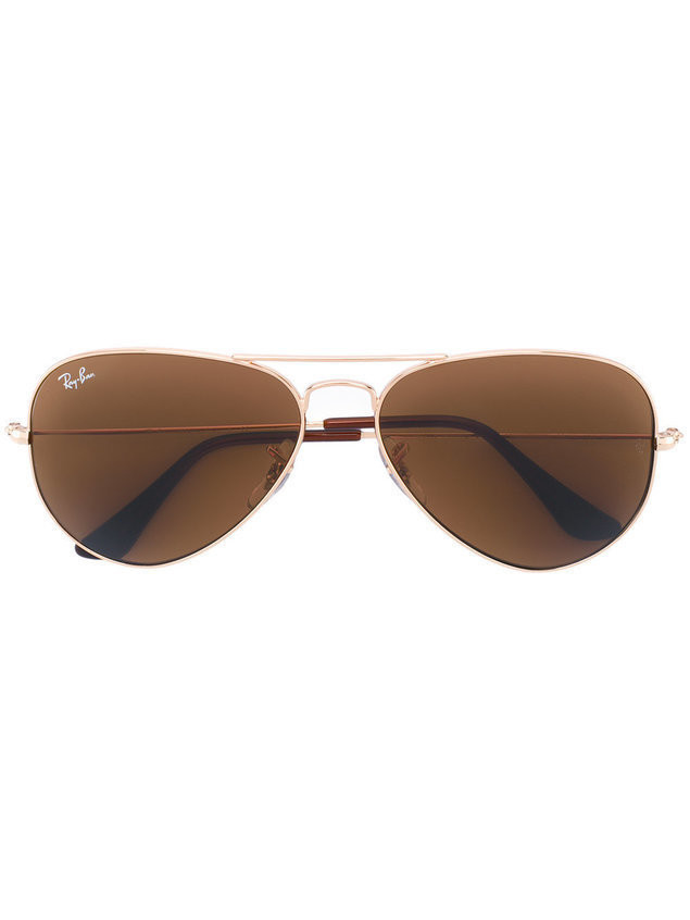 Ray-Ban 3025 aviator sunglasses - Metallic