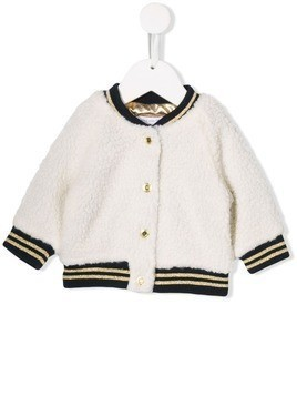 Little Marc Jacobs embroidered bomber jacket - White