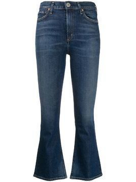 Citizens Of Humanity high rise cropped jeans - Blue