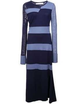 Kimora Lee Simmons stripped knit dress - Blue
