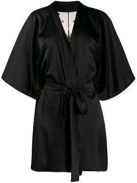 Fleur Of England Cosmic short robe - Black