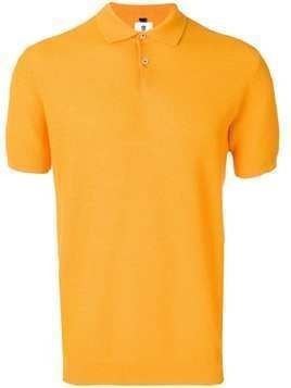 Mc Lauren knitted polo T-shirt - Orange