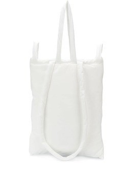 Mm6 Maison Margiela large padded shoulder bag - White