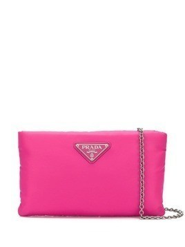 Prada small padded chain clutch - Pink