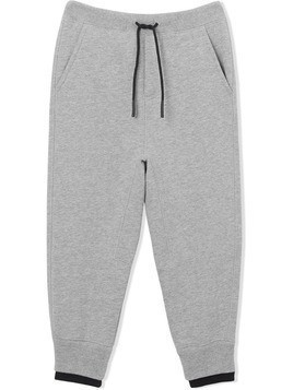 Burberry Kids logo detail trackpants - Grey