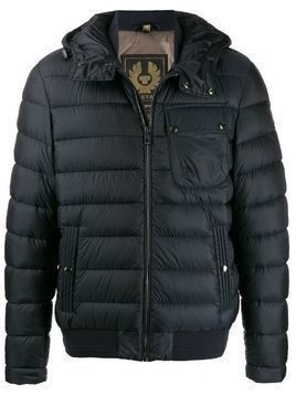 Belstaff hooded down jacket - Blue