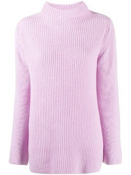 Forte Forte boxy ribbed knit jumper - PINK
