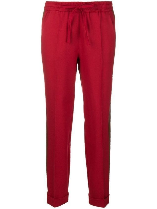 P.A.R.O.S.H. Liliu drawstring tapered trousers