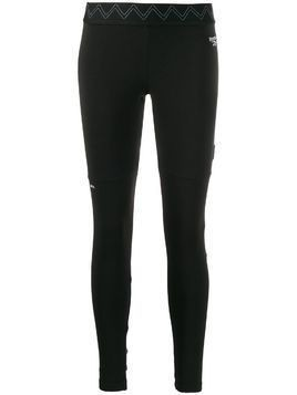 Reebok logo detail leggings - Black