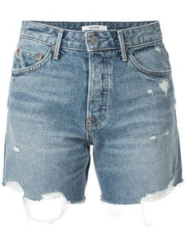 Grlfrnd Jourdan denim shorts - Blue