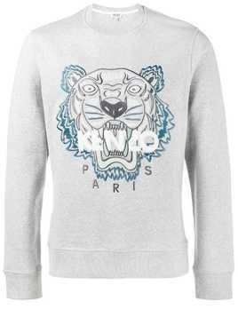Kenzo Light Grey tiger sweatshirt
