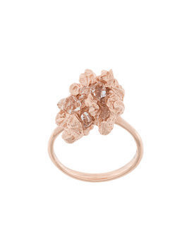 Niza Huang Under Earth irregular ring - Pink