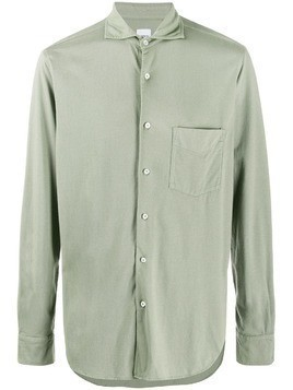 Aspesi spread collar regular-fit shirt - Green