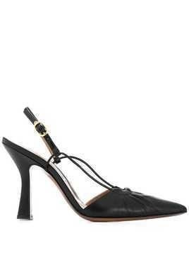 L'Autre Chose drawstring pumps - Black
