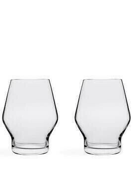 Nude Beak set of two glasses - Neutrals