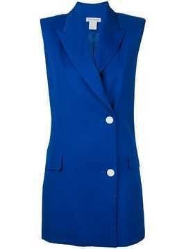 Bianca Spender structured gilet - Blue