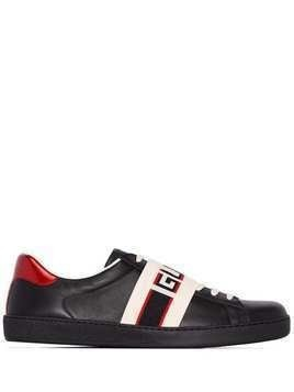 Gucci New Ace logo sneakers - Black