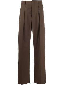 Valentino contrast side panel trousers - Brown