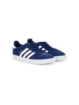 Adidas Kids Campus three stripe sneakers - Blue
