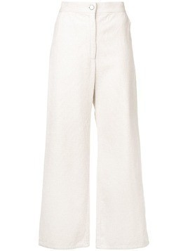 Rachel Comey flared corduroy trousers - White