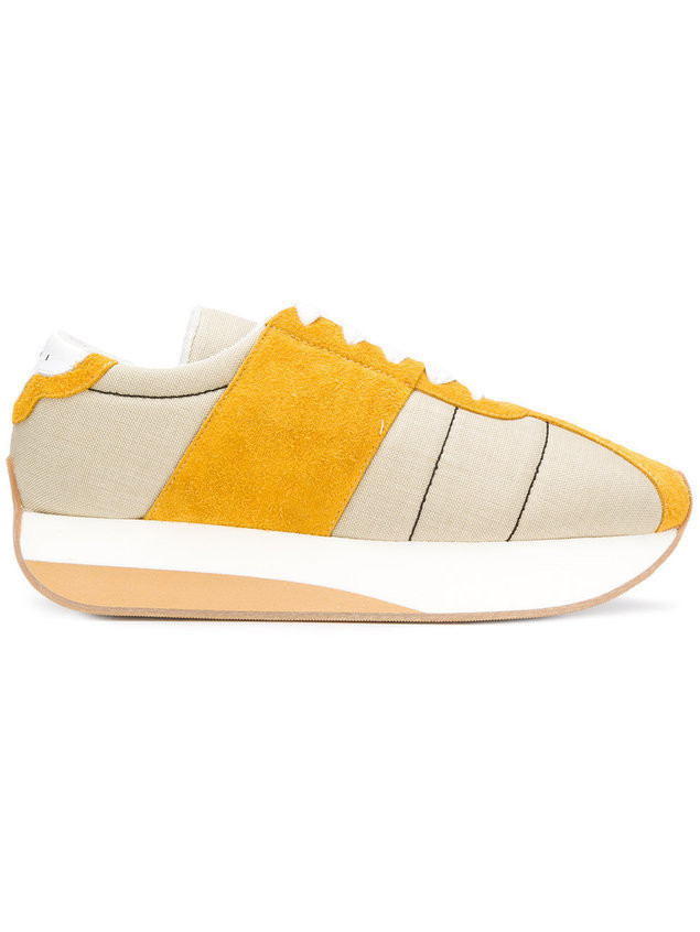 Marni Big Foot sneakers - NEUTRALS