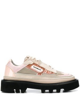 Rombaut ridged sole brogues - Pink