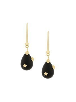 Eshvi teardrop earrings - Black
