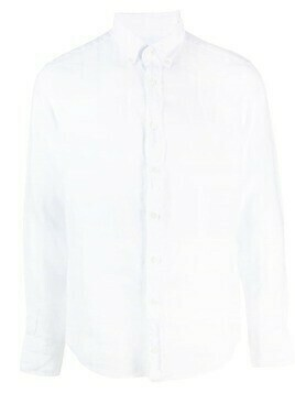 Hackett buttoned long-sleeve shirt - White