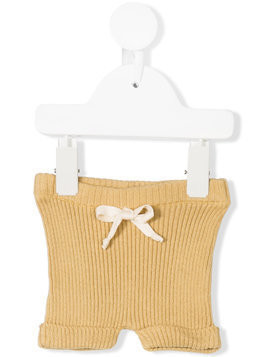 Buho ribbed knitted bloomers - Neutrals