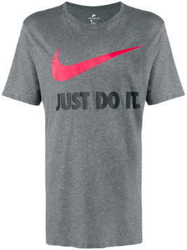 Nike Just Do It Swoosh T-shirt - Grey