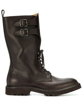 Holland & Holland buckle boots - Brown