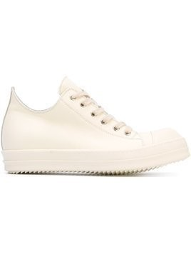 Rick Owens classic lace-up sneakers - Nude & Neutrals