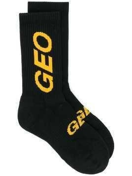 Geo essential logo socks - Black