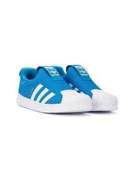 Adidas Kids Superstar slip-on sneakers - Blue