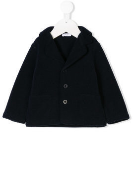 Il Gufo notched collar jacket - Blue