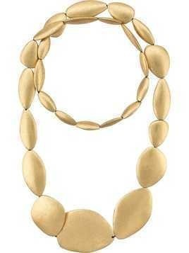 Monies oversized stone necklace - Gold