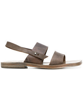 Dimissianos & Miller slingback sandals - Brown