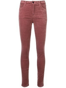 J Brand skim fit trousers - Pink