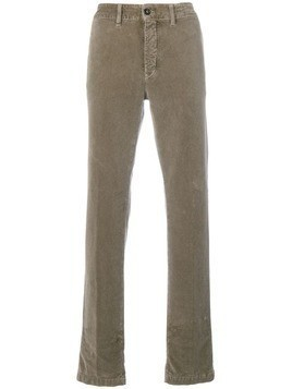 Massimo Alba textured trousers - Brown