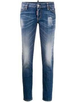 Dsquared2 cropped jeans - Blue