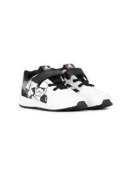 Adidas Kids Star Wars print sneakers - White