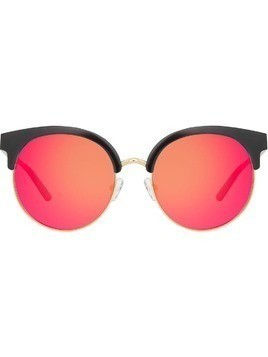 Matthew Williamson round frame sunglasses - Black