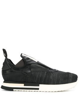 Artselab textured sneakers - Black