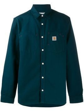 Carhartt WIP long sleeve Tony shirt - Blue