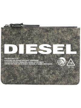 Diesel Lusina denim purse - Green