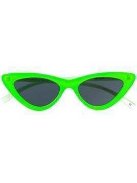 Le Specs The Last Lolita sunglasses - Green